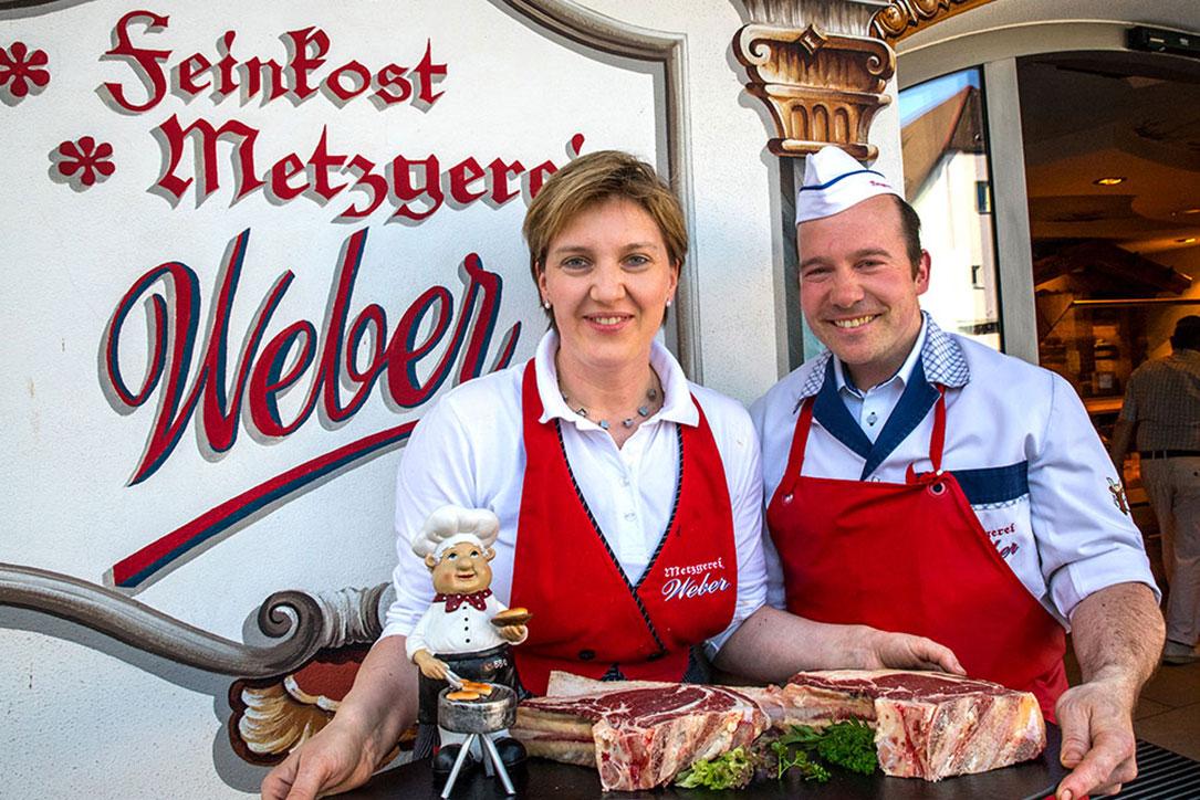 Inhaber Elisabeth und Karl Weber