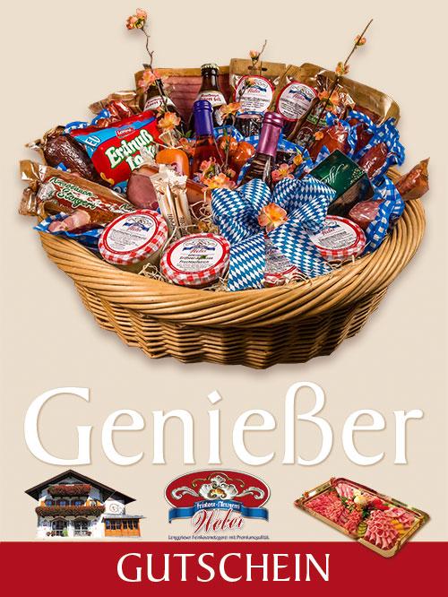 Geschenkkorb / Gutschein