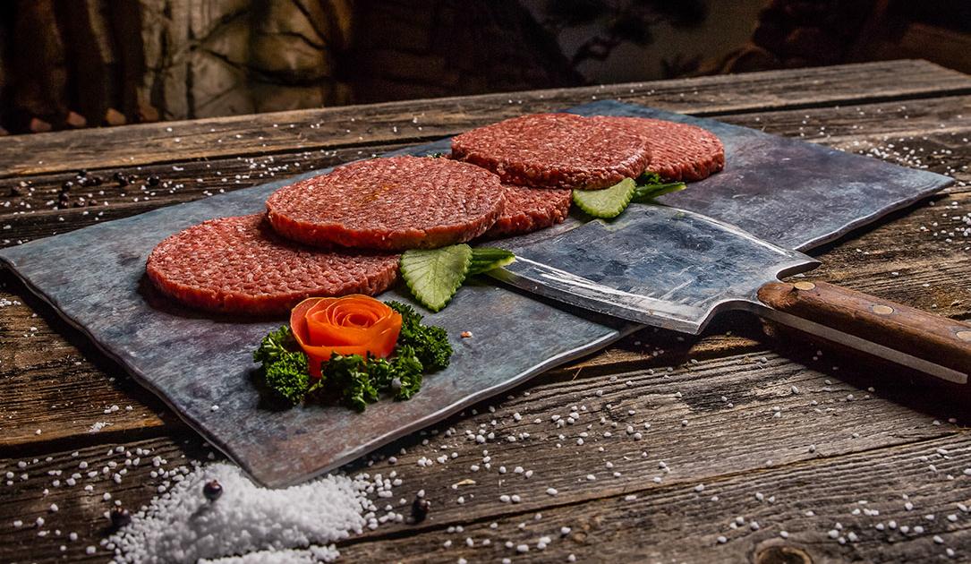 Patties für selbstgemachte Hamburger